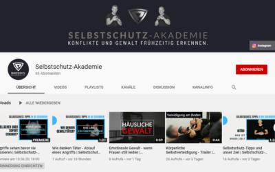 Selbstschutz-Akademie auf Youtube